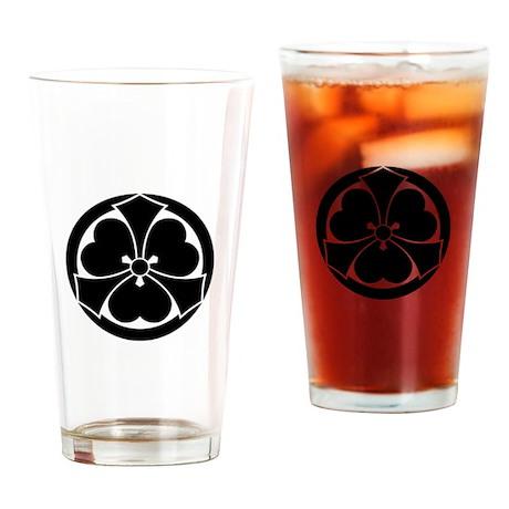 maru ni de ken katabami Drinking Glass