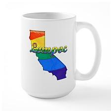 Lompoc, California. Gay Pride Mug