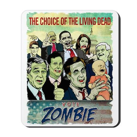 Vote Zombie Mousepad
