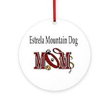 Estrela Mountain Dog Ornament (Round)