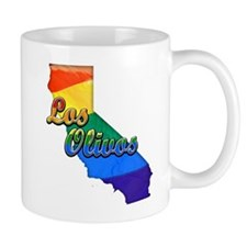 Los Olivos, California. Gay Pride Mug