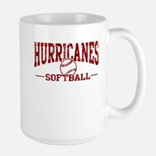 Hurricanes Softball Large Mug
