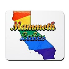 Mammoth Lakes, California. Gay Pride Mousepad