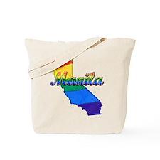 Manila, California. Gay Pride Tote Bag