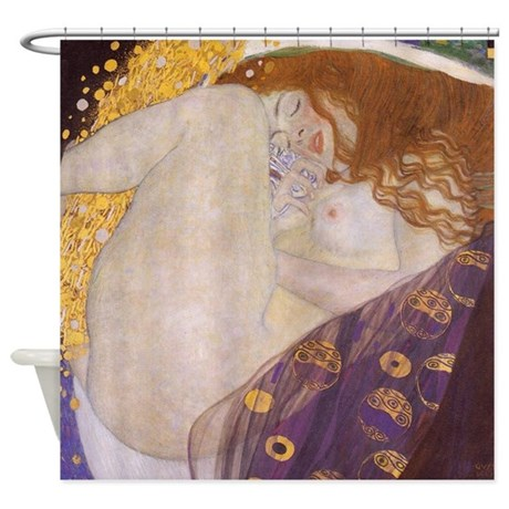 Gustav Klimt Danae Shower Curtain