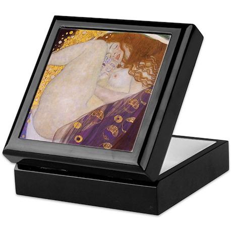 Gustav Klimt Danae Keepsake Box