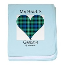 Heart - Graham of Montrose baby blanket