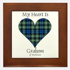 Heart - Graham of Montrose Framed Tile