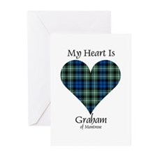 Heart - Graham of Montrose Greeting Cards (Pk of 1