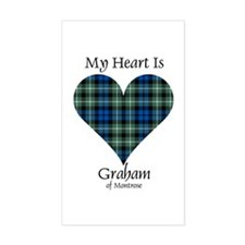 Heart - Graham of Montrose Decal