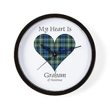 Heart - Graham of Montrose Wall Clock