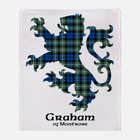 Lion - Graham of Montrose Throw Blanket