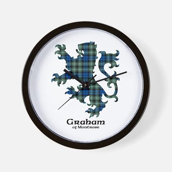 Lion - Graham of Montrose Wall Clock