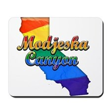 Modjeska Canyon, California. Gay Pride Mousepad