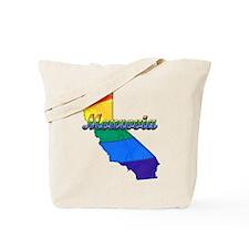 Monrovia, California. Gay Pride Tote Bag