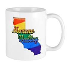 Moreno Valley, California. Gay Pride Mug