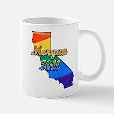 Morgan Hill, California. Gay Pride Mug