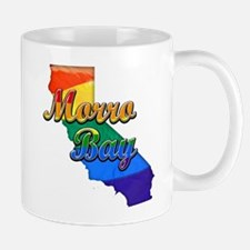 Morro Bay, California. Gay Pride Mug