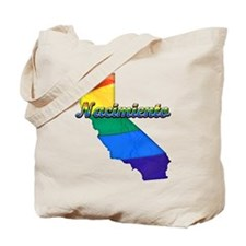 Nacimiento, California. Gay Pride Tote Bag
