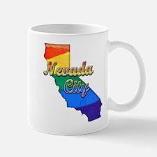 Nevada City, California. Gay Pride Mug