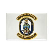 US - NAVY - USS Aubrey Fitch (FFG 34) Rectangle Ma