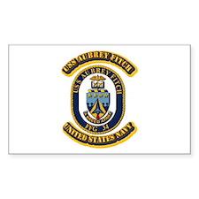 US - NAVY - USS Aubrey Fitch (FFG 34) Decal