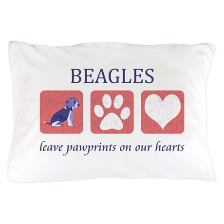 Beagle Lover Gifts Pillow Case