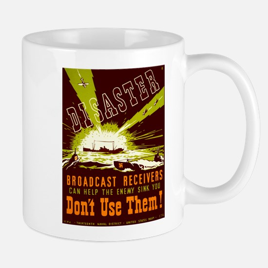 Broadcast Receivers WPA Poster Mug
