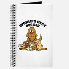 World's Best Dog Dad Journal