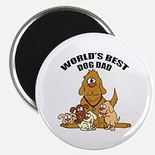 World's Best Dog Dad Magnet