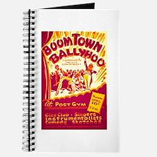 Boomtown Ballyhoo WPA Poster Journal