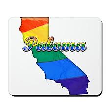 Paloma, California. Gay Pride Mousepad