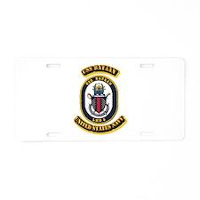 US - NAVY - USS Bataan (LHD 5) Aluminum License Pl