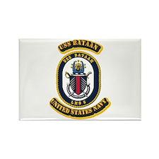 US - NAVY - USS Bataan (LHD 5) Rectangle Magnet