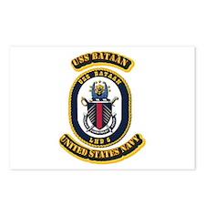 US - NAVY - USS Bataan (LHD 5) Postcards (Package