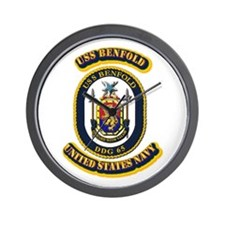 US - NAVY - USS Benfold (DDG 65) Wall Clock