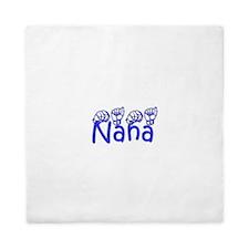 Nana-blue Queen Duvet