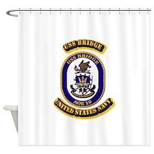 US - NAVY - USS Bridge - AOE10 Shower Curtain
