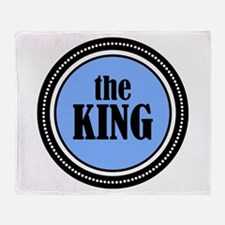 The King Throw Blanket
