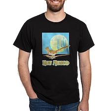 New Mexico Roadrunner Black T-Shirt