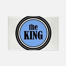 The King Rectangle Magnet