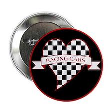 "I Love Race Cars 2.25"" Button"