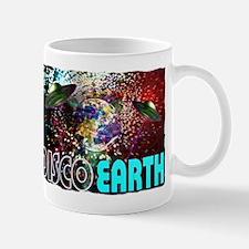 disco earth Mug