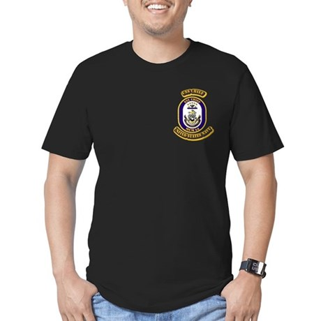 US - NAVY - USS Chief - MCM 14 Men's Fitted T-Shir