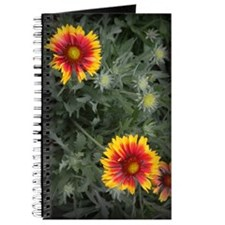 red and yellow flowers Journal