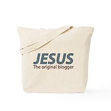 Jesus The original blogger Tote Bag
