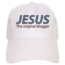Jesus The original blogger Baseball Cap