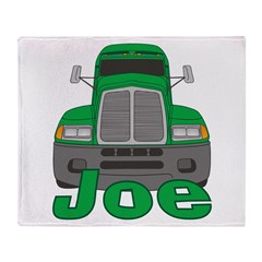 Trucker Joe Throw Blanket
