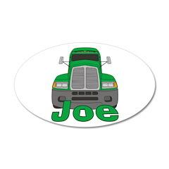 Trucker Joe 22x14 Oval Wall Peel