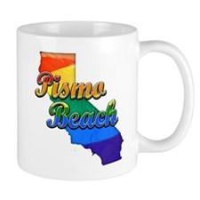 Pismo Beach, California. Gay Pride Mug